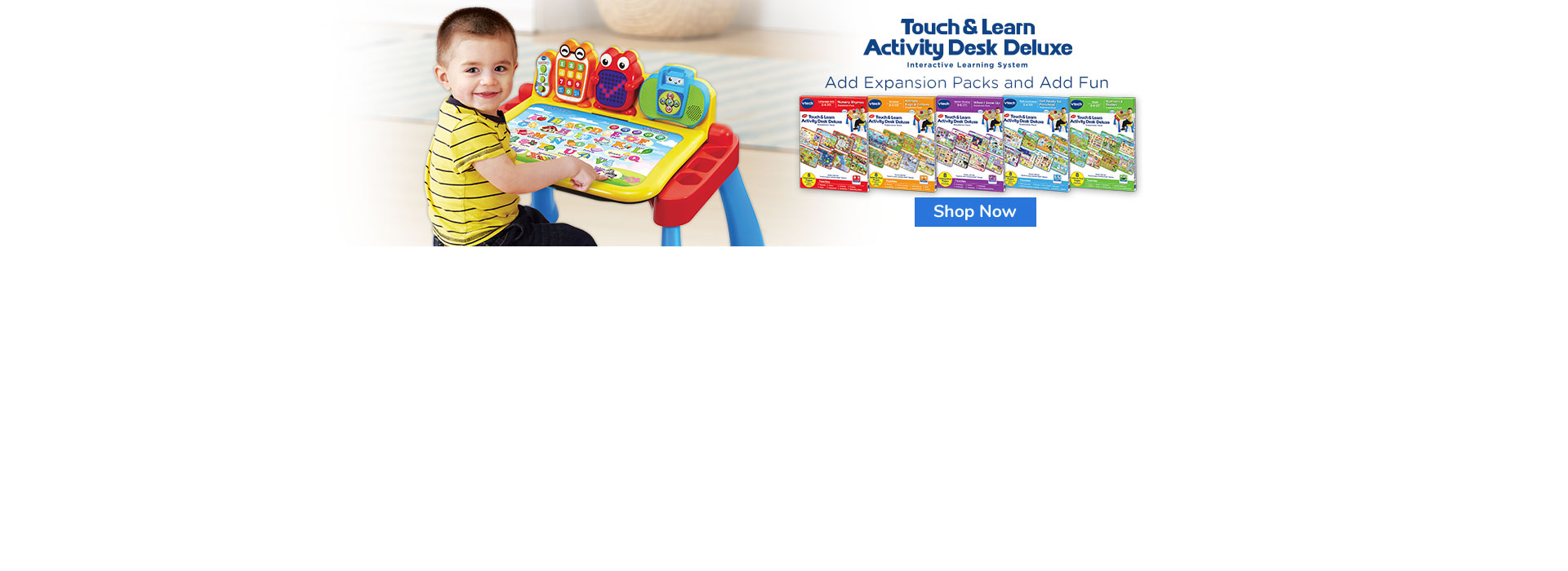 Touch & Learn Activity Desk Deluxe & Books