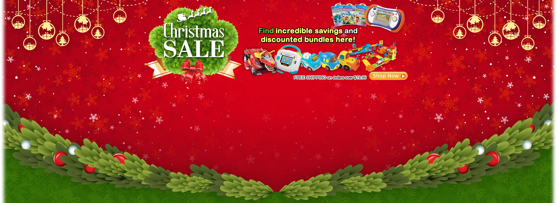 Christmas Sale - Find incredible savings and discounted bundles here!