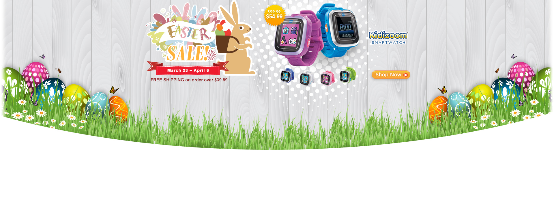 Easter Sale - Kidizoom Smartwatch