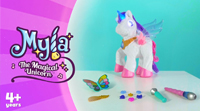 Video about Myla the Magical Unicorn™ | Demo Video