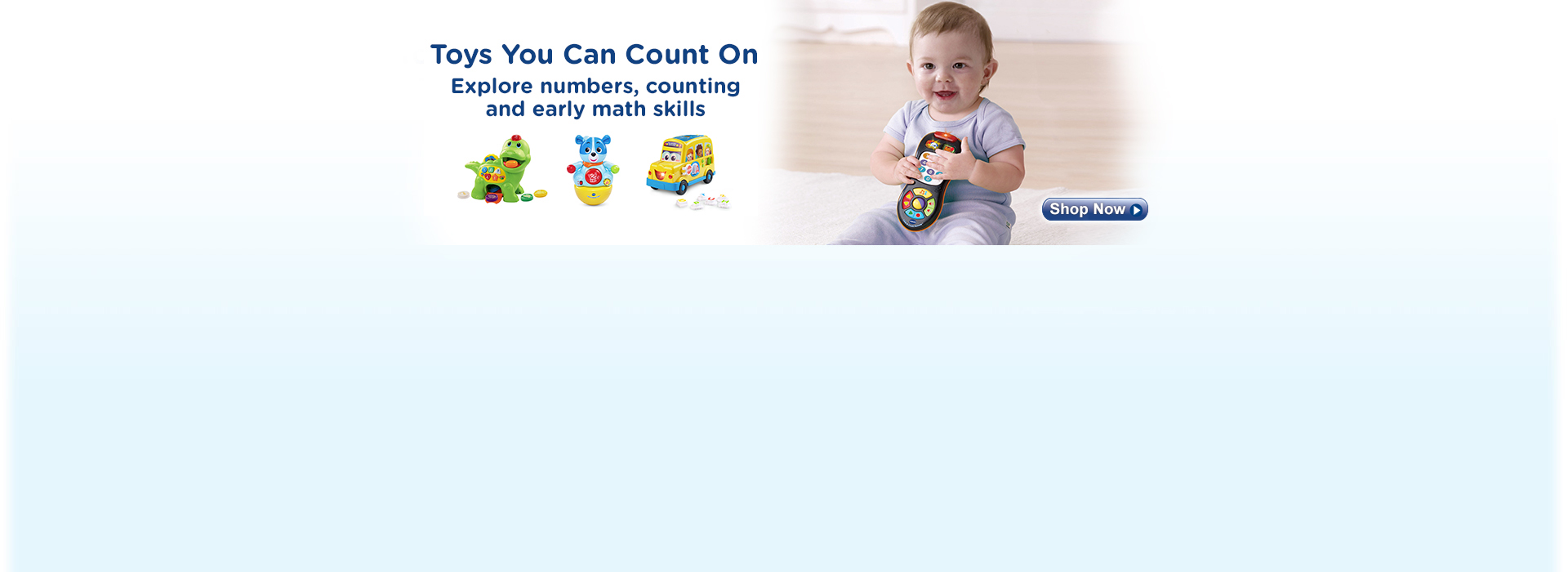 Toys You Can Count On Explore numbers, counting and early math skills