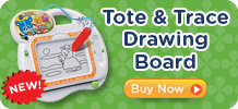 VTech's NEW Tote & Trace Drawing Board