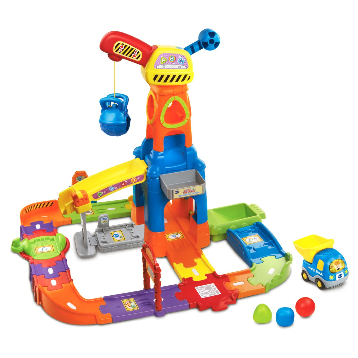 Go Go Smart Wheels 174 Construction Playset І Vtechkids Com