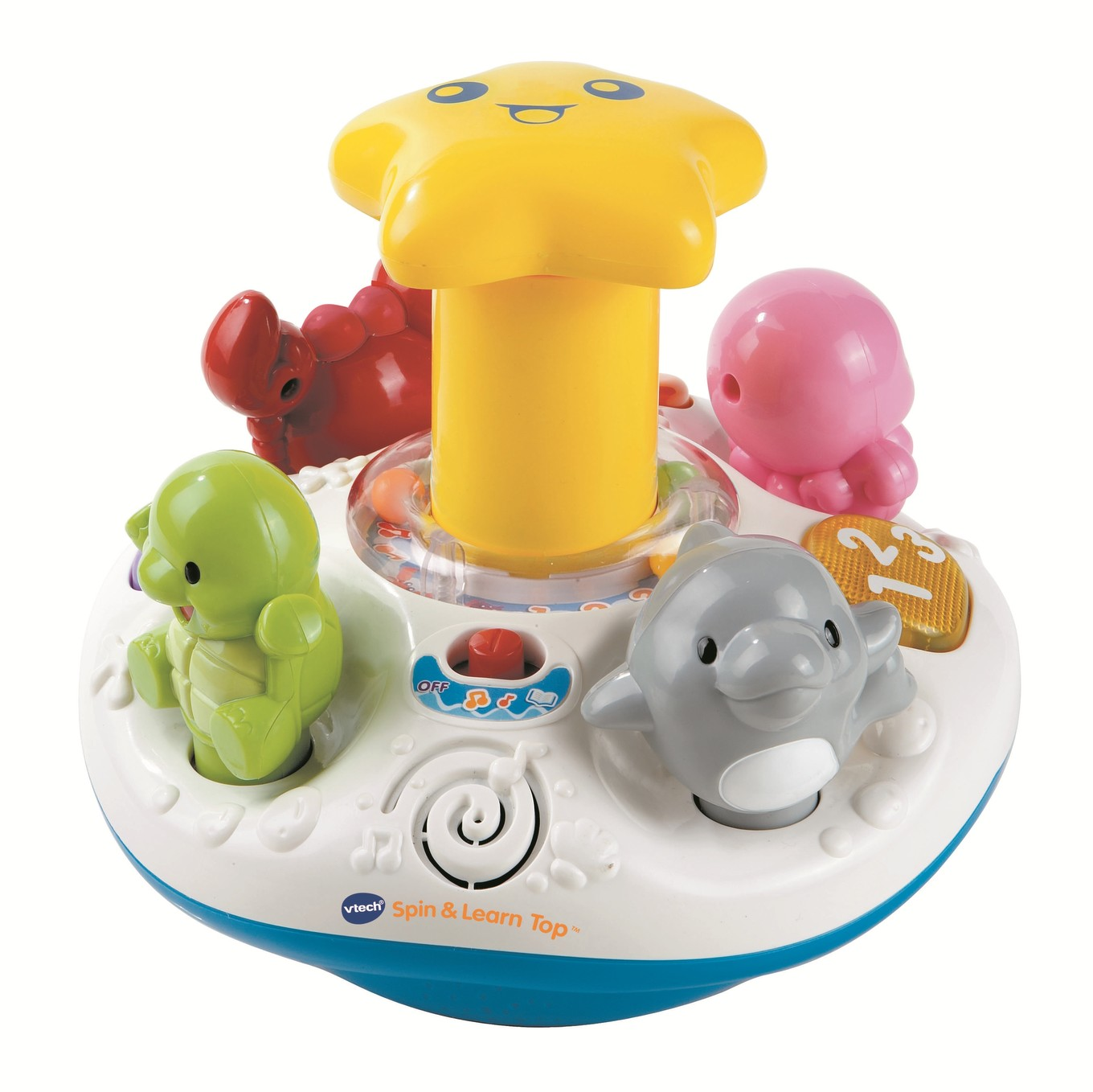 Best Educational Toys 2012 : Spin and learn top infant learning toy vtechkids