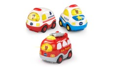 Go! Go! Smart Wheels® Emergency Vehicles 3-Pack