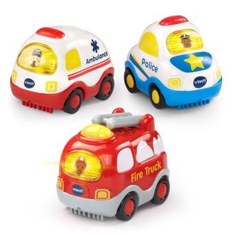 Go! Go! Smart Wheels® Emergency Vehicles 3-Pack