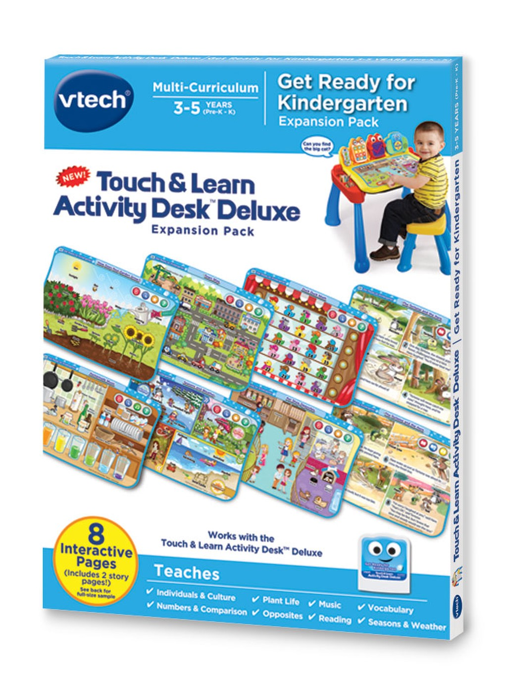 Touch & Learn Activity Desk™ Deluxe │ Get Ready for Kindergarten ...