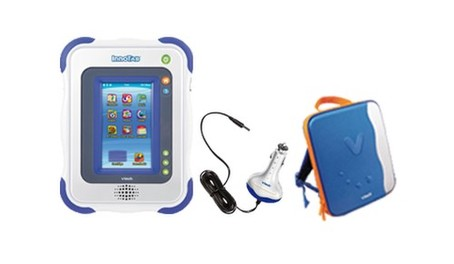 InnoTab Gift Set + Car Charger & Case (Blue)