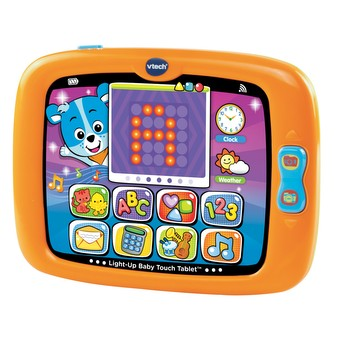 Light-Up Baby Touch Tablet™- Orange