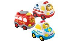 Go! Go! Smart Wheels® Fire Truck + Ambulance + Police Car Bundle