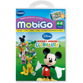 MobiGo Software Cartridge - Mickey Mouse Clubhouse