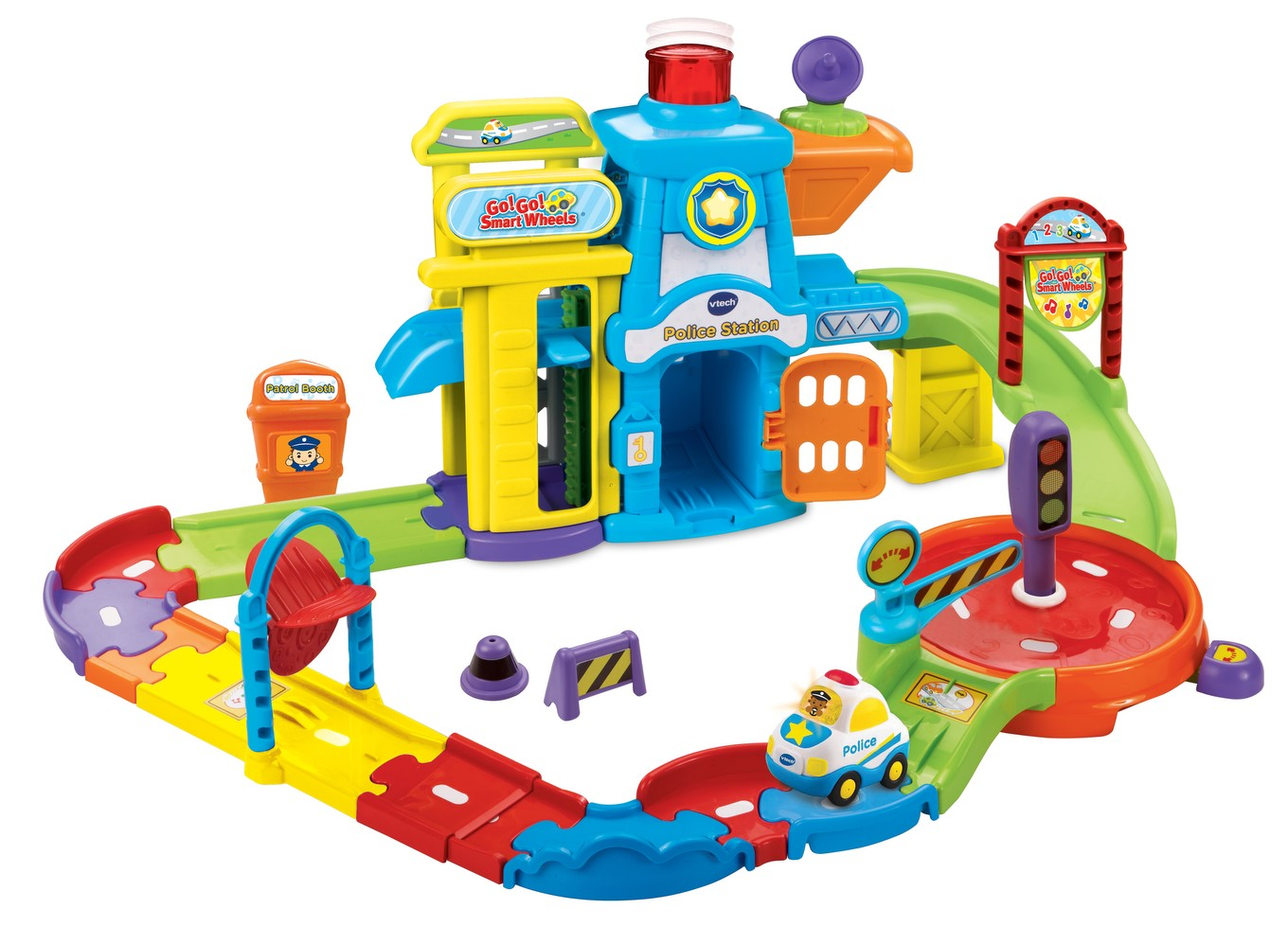 Toys For 2 And Up : Go smart wheels │ police station playset vtech