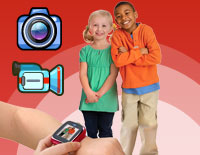 Photo and Video camera allows kids to capture photo and videos anytime, anywhere.