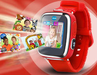 The Kidizoom Smartwatch DX comes with even more memory your little photographer can take more pictures and videos creating hours of fun.