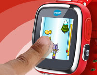 8 games including action challenges and motion games that provide entertainment on-the-go.