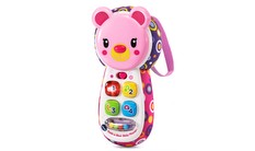 Peek-a-Bear Baby Phone™ (Pink)