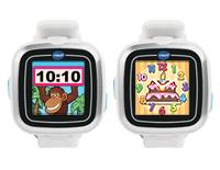 Digital and analog watch displays