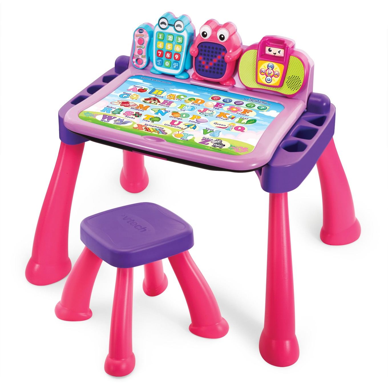 Toy For Ages Five To Seven : Touch learn activity desk™ deluxe │ vtech