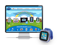 Connects with VTech's Learning Lodge™