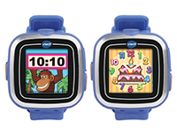 Digital and analog watch displays