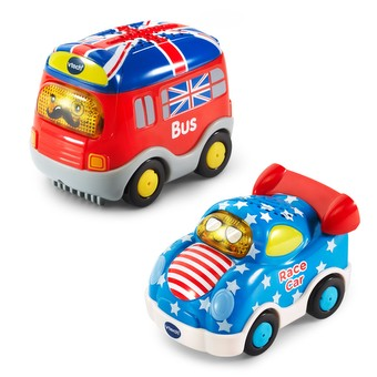 Go! Go! Smart Wheels® National Flag Vehicles 2-Pack