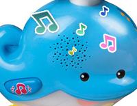 Long playing soft music helps lull babies to sleep