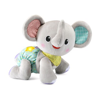 Explore & Crawl Elephant™ (Gray)