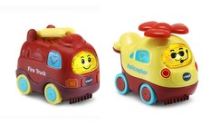 Go! Go! Smart Wheels® Earth Buddies™ Fire Truck & Helicopter