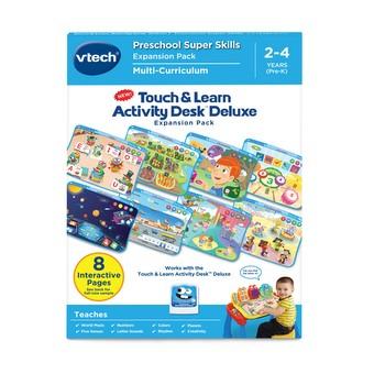 Explore Write Kids Activity Desk Transforms into Easel /& Chalkboard w// Melodies