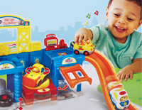 Works with other Go! Go! Smart Wheels®, Go! Go! Smart Animals® and select Go! Go! Smart Friends® playsets (each sold separately)
