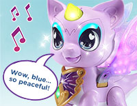 Interact with Piper Explore colors and hear about her moods and feelings with more than 100 magical responses. Touch Piper's mouth to sing a colorful duet with her.