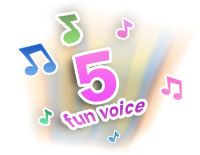 Voice recorder with 5 fun voice changing effects
