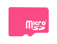 Supports microSD card for memory expansion (not included)