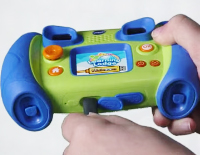 Computer connection with included USB cable lets you download your kid's creations (PC and Mac compatible)