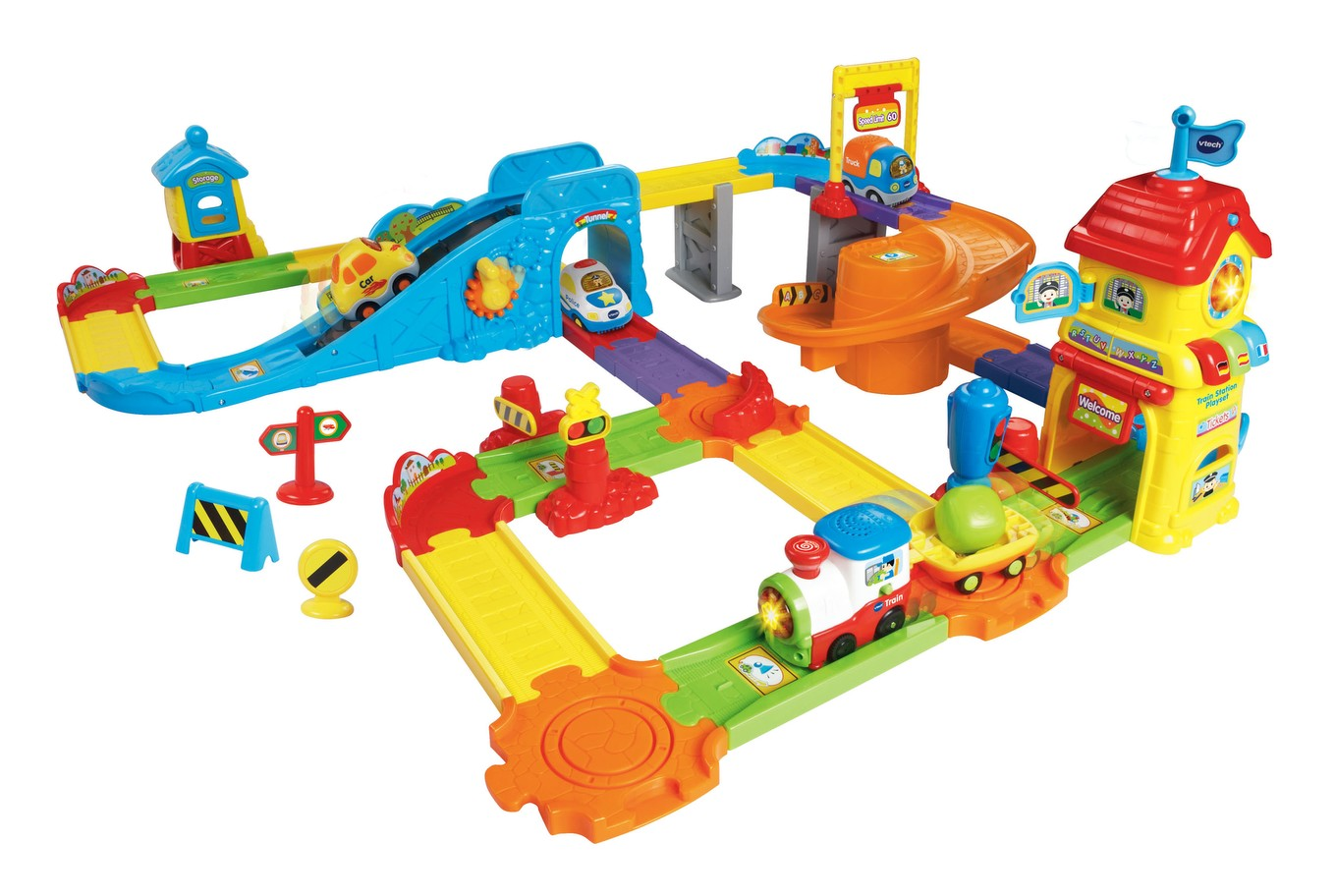 Go Smart Wheels Treasure Mountain Train Adventure Vtech Wheel Wiring Diagram Station Playset