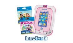InnoTab 3 with 2 Cartridges Bundle - Pink