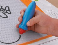 Easy-to-use stylus is perfectly sized for your child's hands
