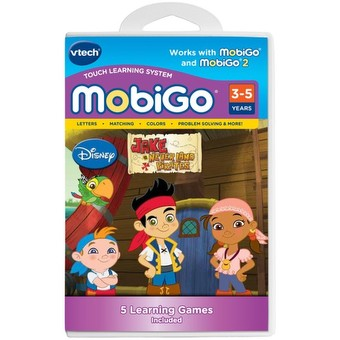 MobiGo Cartridge - Jake and the Never Land Pirates