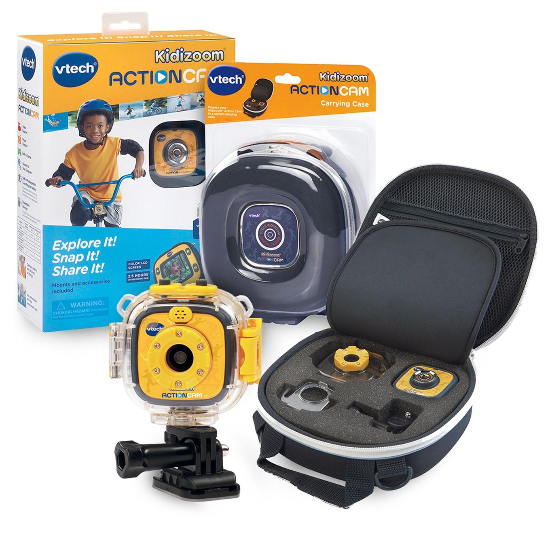 kidizoom action cam with carrying case bundle. Black Bedroom Furniture Sets. Home Design Ideas