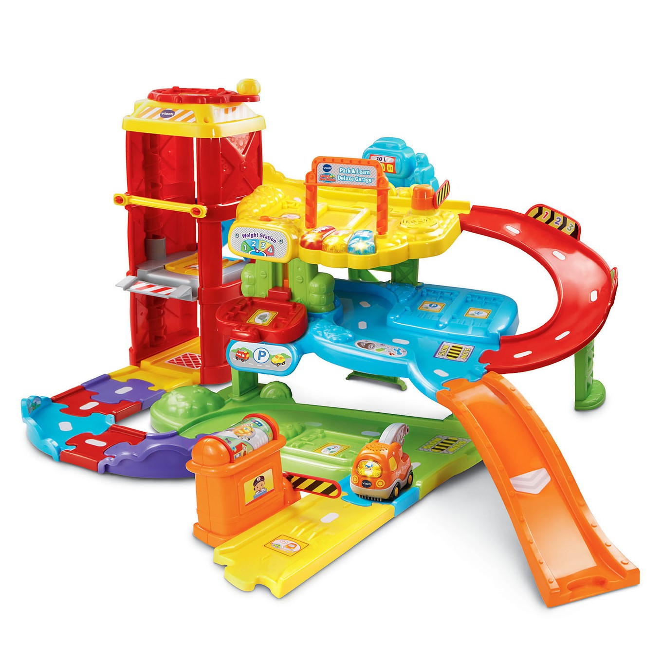 Go Go Smart Wheels 174 Park Amp Learn Deluxe Garage Vtech 174