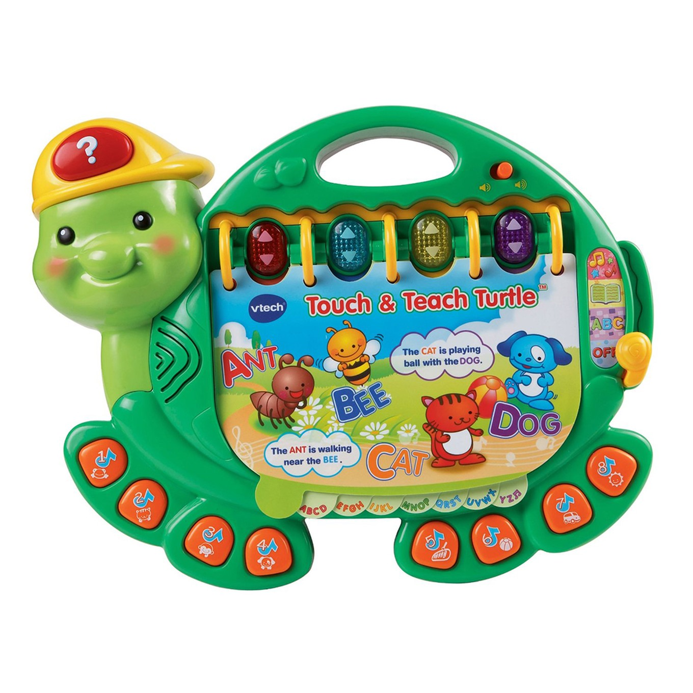 Touch Amp Teach Turtle Toddler Learning Toy Vtechkids Com