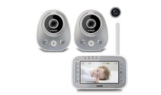 VM342-2 - 2 Camera Video Monitor with Wide-Angle Lens and Standard Lens