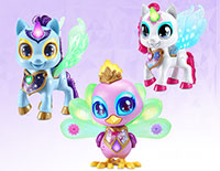 Sparkling Friends Collect all of the Sparkling friends for more colorful play! Each sold separately.
