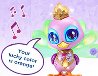 Interact with Penny Explore colors and hear about her moods and feelings with more than 100 magical responses. Touch Penny's mouth to sing a colorful duet with her.