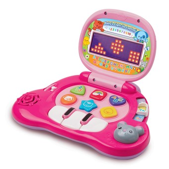 Baby's Light-Up Laptop Pink