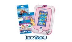 InnoTab 3 with 3 Cartridges Bundle - Pink