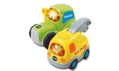 Go! Go! Smart Wheels® Tow Truck + Tractor Bundle