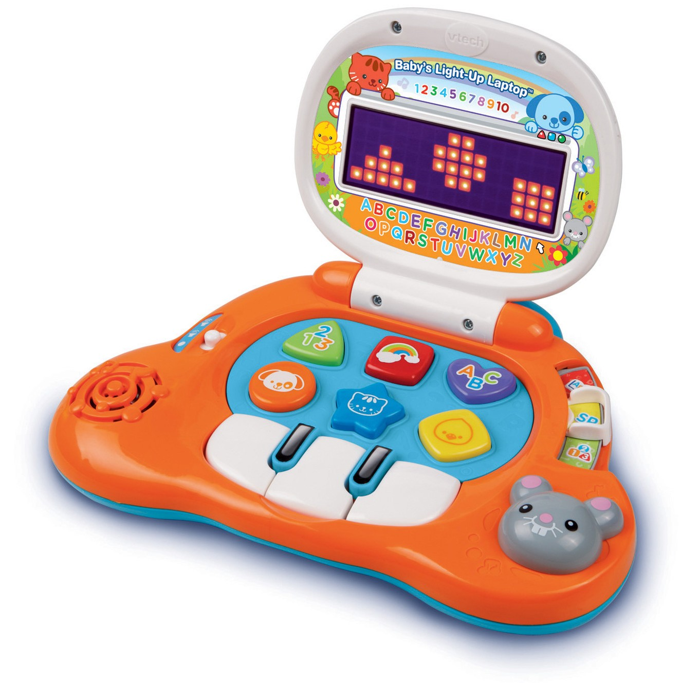 Baby S Light Up Laptop Bilingual Learning Toy