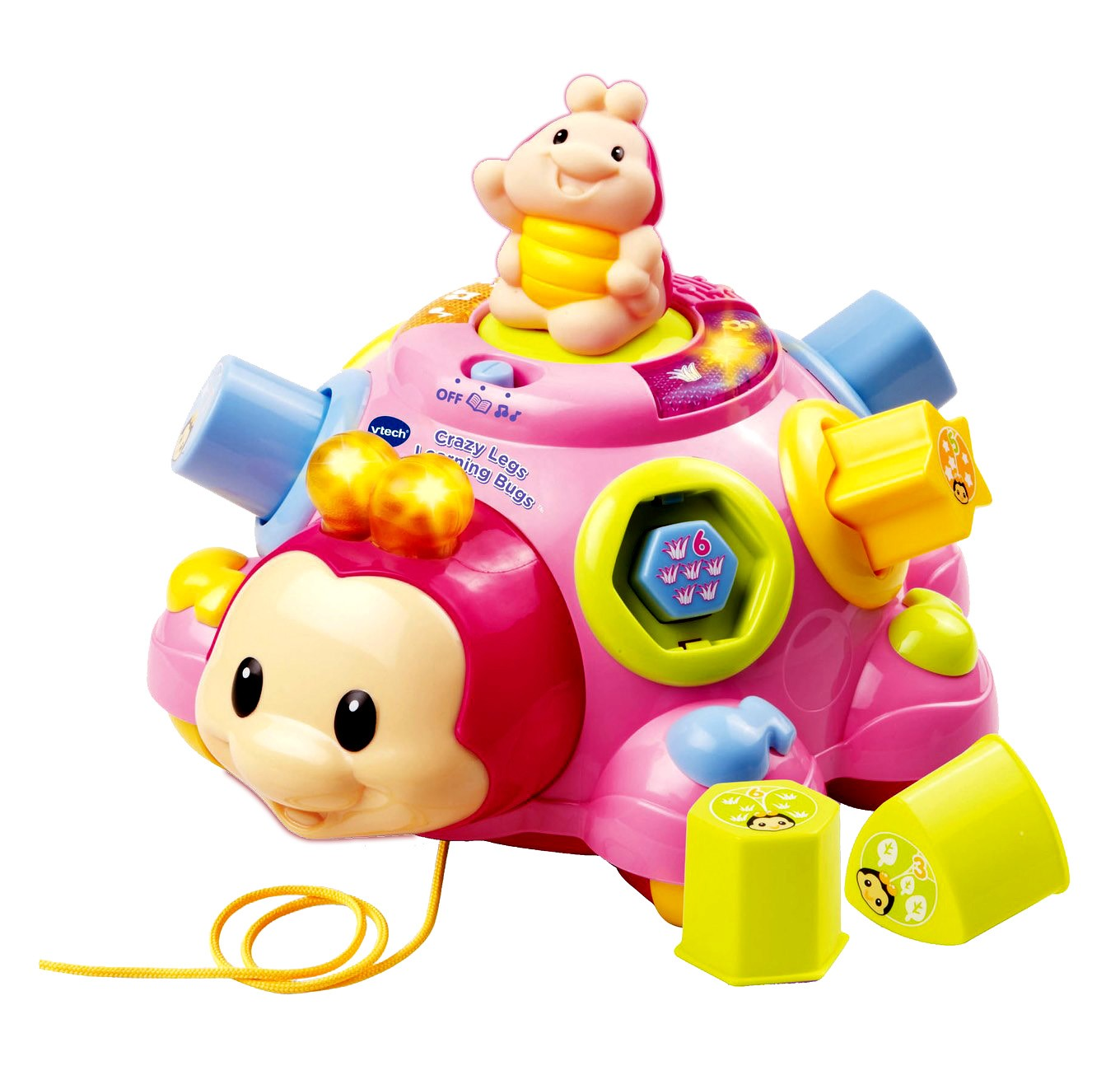 Toys For Legs : Crazy legs learning bugs infant toy vtech