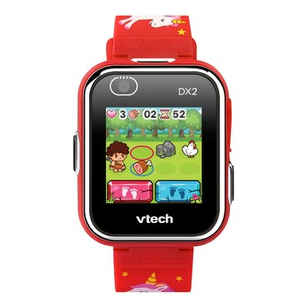 KidiZoom® Smartwatch DX2 (Red with Unicorn Pattern)